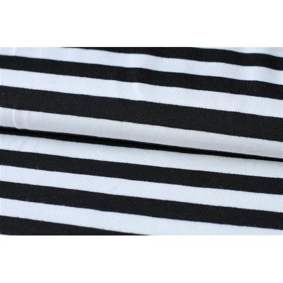 Jersey Schwarz Weiß